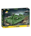 COBI Small Army 2615 II WW Tank T-72 M1, 1:28, 550 k, 1 f stavebnice