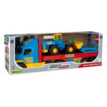 Super Truck valník plast 78cm Wader v krabici