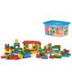 WADER Kostky stavebnice Block plast 132ks v plastovém boxu 40x23x35cm