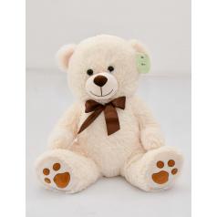 mac toys Medvídek sedící krémový, 40 cm