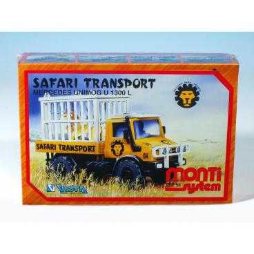 MONTI SYSTEM 51 stavebnice vozidla Safari