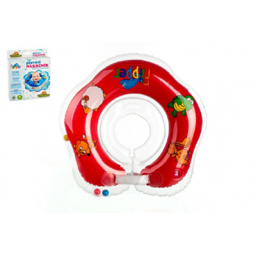 Teddies Plavací nákrčník Flipper červený