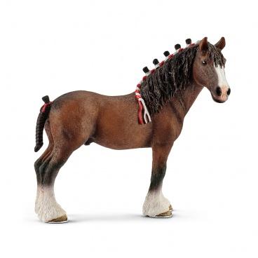 Schleich 13808 figurka kůň - valach Clydesdaleský