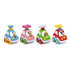 Clementoni  Disney Press & Go autíčko pro nejmenší děti