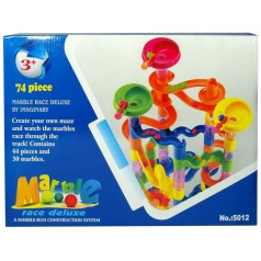 Mac Toys Kuličková dráha 74 dílů