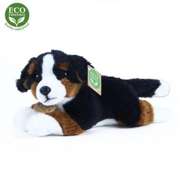 Rappa Plyšový bernský salašnický pes ležící 23 cm ECO-FRIENDLY
