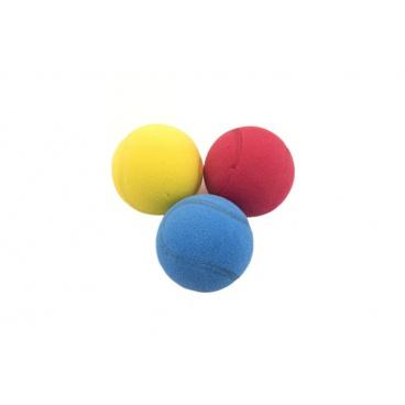 LORI Soft míč na soft tenis pěnový průměr 7cm, asst 3 barvy
