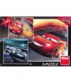 DINO puzzle WD Cars3: Trénink 3x55D