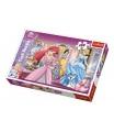 Trefl Puzzle Princezny Disney 100 dílků 41x27,5cm v krabici 29x20x4cm