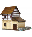 Walachia dřevěná stavebnice - Hrázděný vodní mlýn