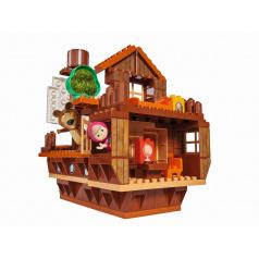 Big PlayBig BLOXX Máša a medvěd Míšova loď