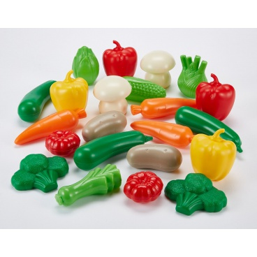 Ecoiffier Zelenina různé druhy, 22 ks