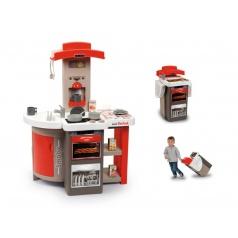 Smoby 31202 Kuchyňka Tefal skládací elektronická, červená