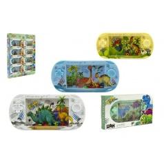 Vodní hra dinosaurus plast 18cm asst 4 barvy v krabičce
