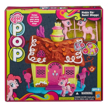 Hasbro My Little Pony  POP DOMEČEK HRACÍ SET