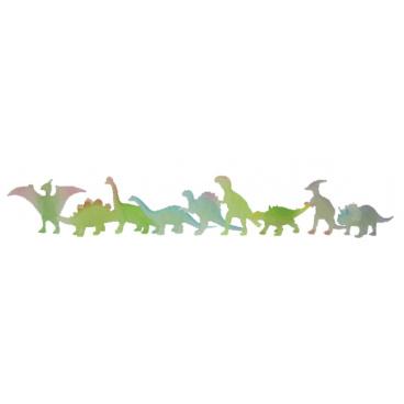 Rappa Dinosauři svítí ve tmě 9 ks v sáčku