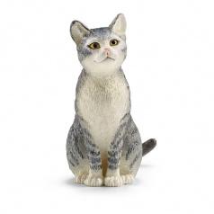 Schleich 13771 Zvířátko - kočka sedící