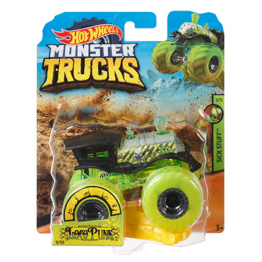Hot Wheels Monster Trucks kaskadérské kousky assort FYJ44