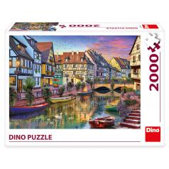 Dino ROMANTICKÝ PODVEČER 2000 Puzzle NOVÉ