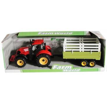 Mac Toys BestLuck Mac Toys Traktor s valníkem
