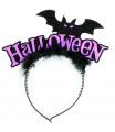 Rappa Čelenka netopýr s peřím Halloween