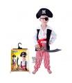 dětský karnevalový kostým pirát velikost S