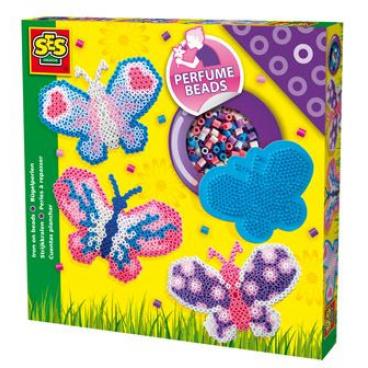 SES Zažehlovací korálky voňavé - motýl