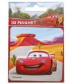 Rappa Magnetky 3D Disney Cars/Auta 9x13 cm