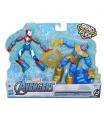 Hasbro Avengers figurka Bend and Flex duopack