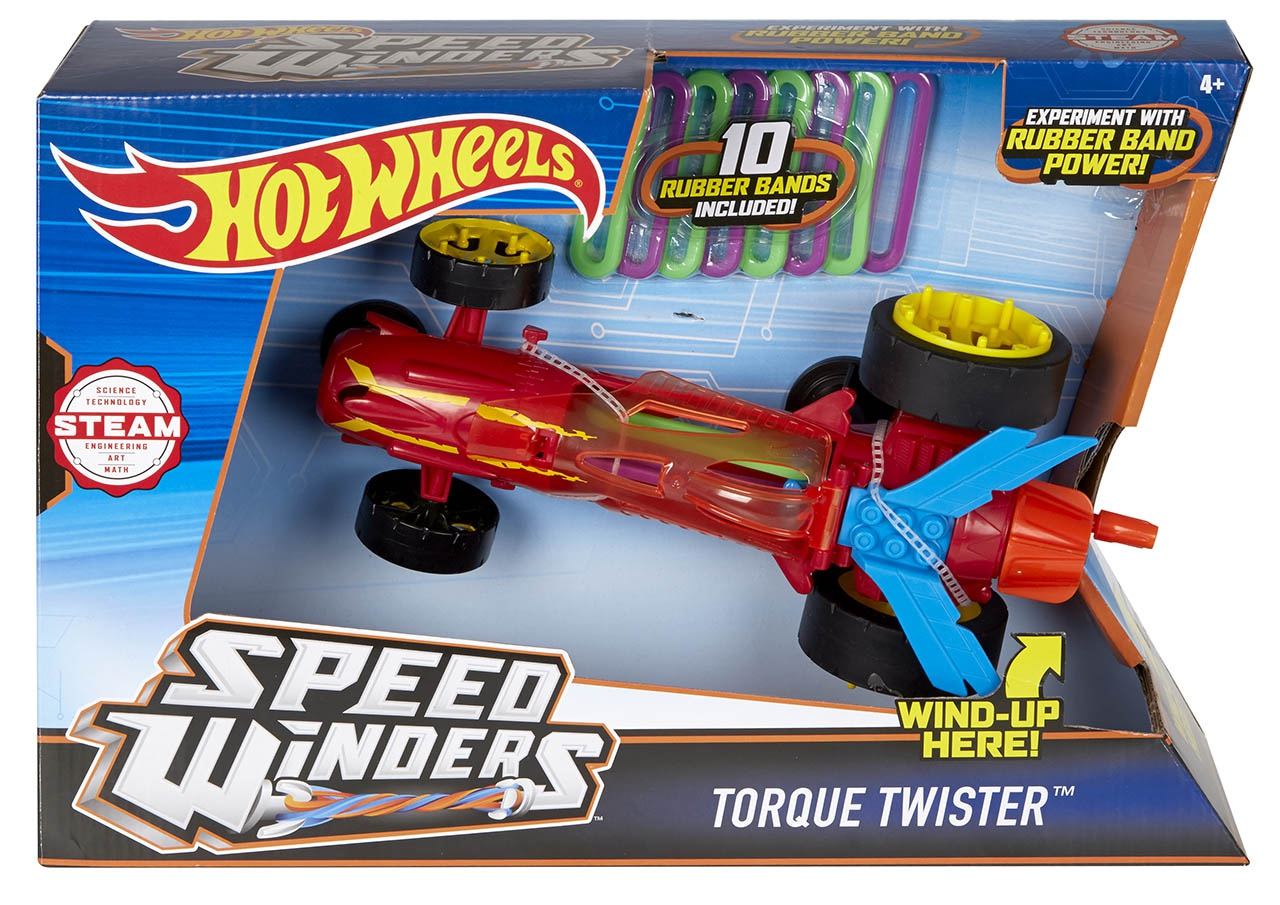 Mattel Hot Wheels SPEED WINDERS TORNÁDO ASST DPB63
