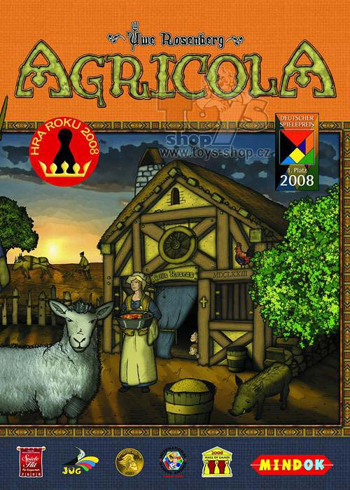MINDOK hra Agricola