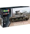 Revell Plastic ModelKit tank 03290 - Sherman M4A1 (1:72)