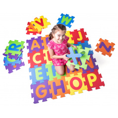 Plastica Pěnové podlahové puzzle Abeceda