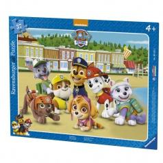 Ravensburger dětské puzzle Tlapkova Patrola - Rodinné foto 37 dílků