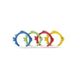 Intex Zábavné kruhy/ryby pro potápění ve vodě