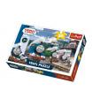 Trefl Puzzle Mašinka Tomáš 27x20cm 30 dílků v krabičce 21x14x4cm