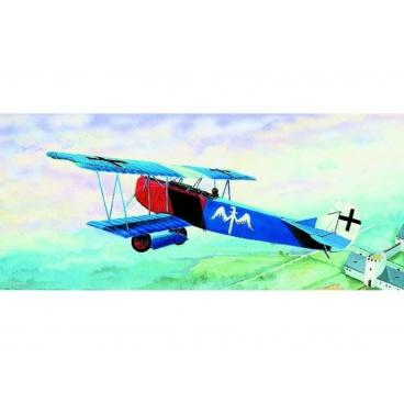 Směr model letadla Fokker D-VII 15,2x19,3cm v krabici 31x13,5x3,5cm