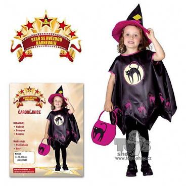 521fa9c4f dětský kostým na karneval - čarodějnice vel. 92-104 cm - Eshop s ...