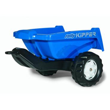 ROLLYTOYS Vlečka za traktor KIPPER malá modrá