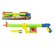 Pistole na vodní bomby 3v1 plast 60cm v krabici