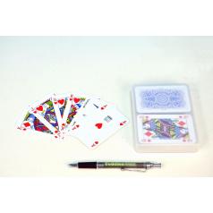 Hrací karty, s.r.o. Canasta společenská hra karty v plastové krabičce 13x10cm
