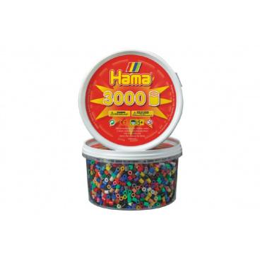 Zažehlovací korálky MIDI 3000ks v dóze