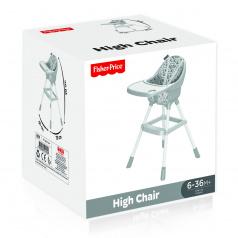 Dolu Dětská jídelní židlička bílá, Fisher Price
