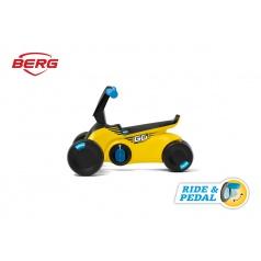 BERG GO SparX - 2v1, odrážadlo a šliapadlo žlté
