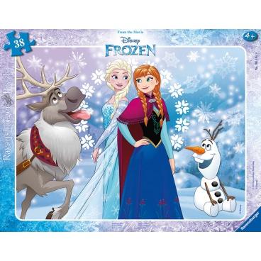Ravensburger dětské puzzle Disney Frozen Ledové království 30-48 dílků