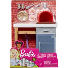 Mattel Barbie NÁBYTEK A DOPLŇKY ASST