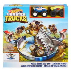 Hot Wheels MONSTER TRUCKS ŽRALOČÍ ÚTOK