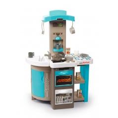 Smoby 312201 Kuchyňka Tefal Bubble skládací elektronická, modrá