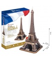 3D puzzle Eiffelovka 82d