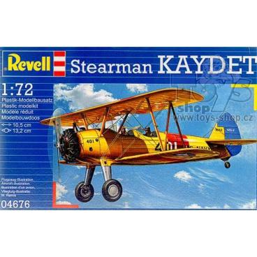 Revell 04676 letadlo Stearman Kaydet